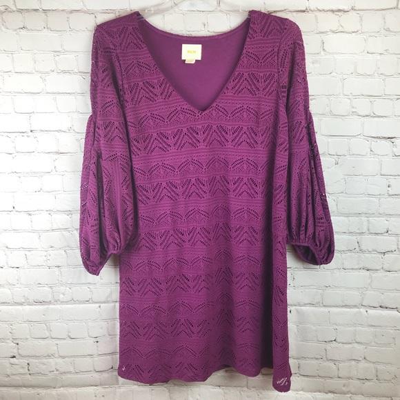 887e17c63003 Maeve Dresses & Skirts - ANTHROPOLOGIE Maeve Laila Purple Lace Dress